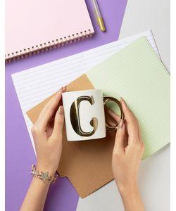 Sass & Belle | Letter C Mug