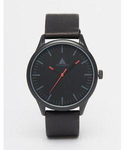 Asos | Черные Часы С Красной Отделкой