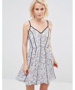 Greylin | Платье С Цветочным Принтом Claire
