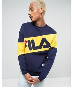 Fila Vintage | Свитшот С Большим Диагональным Логотипом Fila