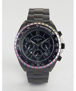Police | Часы С Многофункциональным Циферблатом И Окантовкой Радужного Цвета