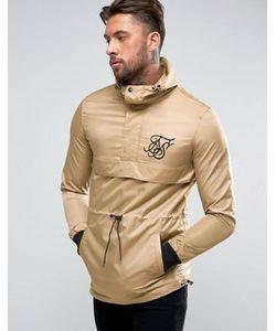 SikSilk | Куртка Песочного Цвета Через Голову