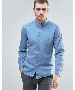 Esprit | Светлая Джинсовая Рубашка