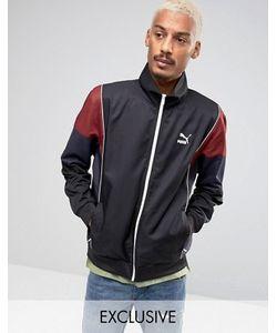 Puma | Черная Спортивная Куртка В Винтажном Стиле Эксклюзивно Для