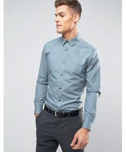 New Look | Светло-Зеленая Рубашка Классического Кроя