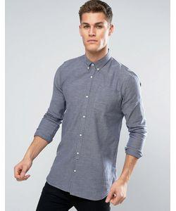D-Struct | Фактурная Удлиненная Рубашка С Длинными Рукавами
