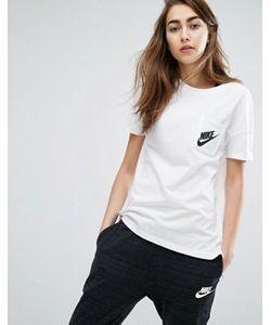 Nike | Футболка С Короткими Рукавами И Маленьким Логотипом Signal