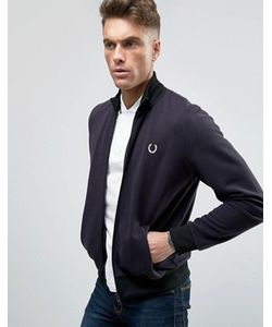 Fred Perry Laurel Wreath | Fred Perry Reissues Track Jacket Reversed Tricot In Navy