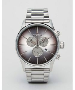 Nixon | Sea Ranch Sentry Chronograph Watch In Stainless Steel