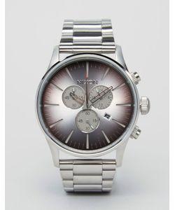 Nixon   Часы Из Нержавеющей Стали С Хронографом Sea Ranch Sentry
