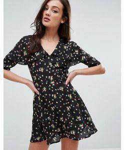 Fashion Union   Платье С Мелким Цветочным Принтом