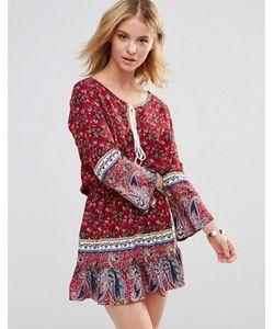 Style London | Платье С Ярусной Кромкой