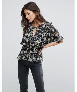 Fashion Union | Блузка С Цветочным Принтом