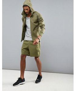 Adidas   Зеленые Шорты Zne