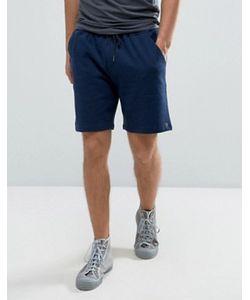 Farah | Tarrant Sweat Shorts Drawstring In Navy Marl