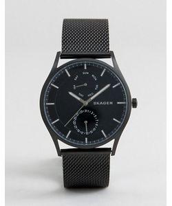 Skagen | Черные Часы С Хронографом Skw6318 40 Мм