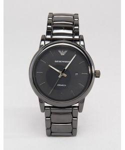 Emporio Armani | Черные Наручные Часы Из Нержавеющей Стали Ar1508