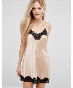 Lingadore | Платье-Комбинация С Кружевной Отделкой Aria