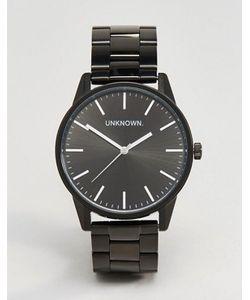 UNKNOWN | Классические Черные Часы-Браслет 39 Мм