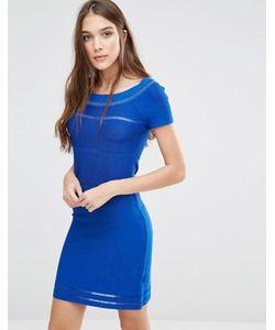 Lavand. | Синее Облегающее Платье Lavand