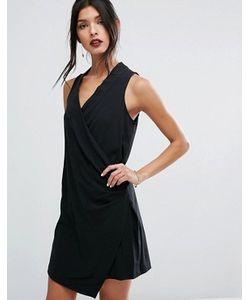 BCBGeneration | Черное Платье Мини Без Рукавов