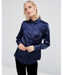LOST INK | Атласная Пижамная Рубашка