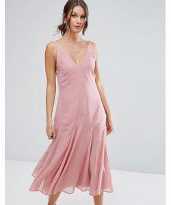 Asos | Платье Миди В Стиле 30-Х