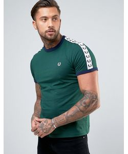 Fred Perry | Зеленая Футболка Sports Authentic