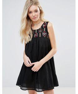 Glamorous   Платье С Присборенной Юбкой
