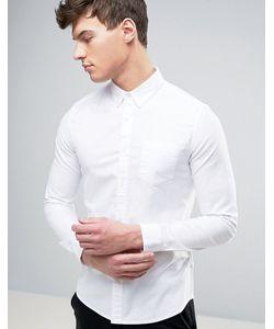 Burton Menswear | Skinny Oxford Shirt With Stretch