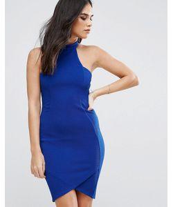 AX Paris   Платье Миди Из Крепа