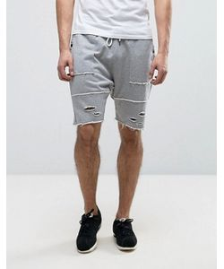 Cayler & Sons | Drop Crotch Shorts With Distressing