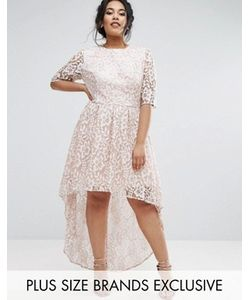 Chi Chi Plus | Кружевное Платье Chi Chi London Plus