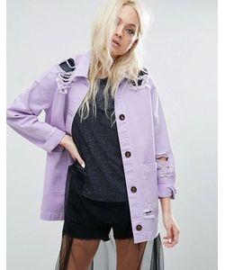 Asos | Куртка С Прорехами