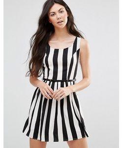 Yumi | Платье В Полоску