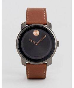 Movado | Часы Со Светло-Коричневым Кожаным Ремешком Bold 3600378