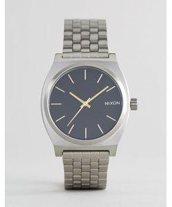 Nixon | Серебристые Наручные Часы Velvet Time Teller