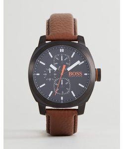 BOSS Orange   Часы С Кожаным Ремешком By Hugo Boss 1550028 Capetown