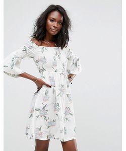 boohoo | Платье С Цветочным Принтом
