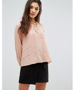 Greylin | Блузка Со Складками Trina