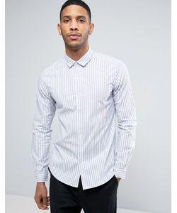 Asos | Рубашка В Тонкую Полоску