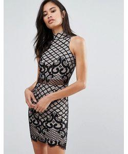 Parisian | Облегающее Кружевное Платье
