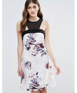 Little Mistress | Цельнокройное Платье С Цветочным Принтом