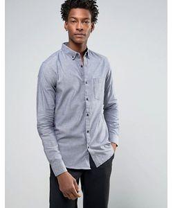 Troy | Оксфордская Узкая Рубашка С Карманом
