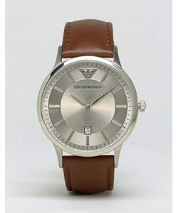 Emporio Armani | Часы Со Светло-Коричневым Кожаным Ремешком Ar2463