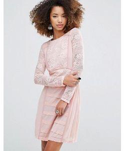 Glamorous | Облегающее Кружевное Платье