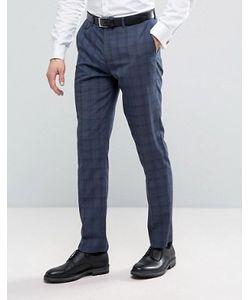 Burton Menswear | Slim Suit Trouser In Check