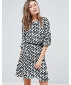 Sugarhill Boutique | Короткое Приталенное Платье Sugarhill