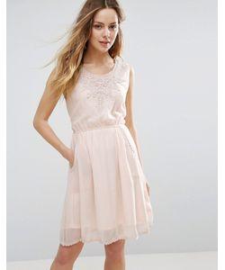 Jasmine | Платье С Отделкой Кроше У Горловины