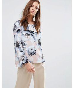 Selected | Рубашка С Цветочным Принтом Femme